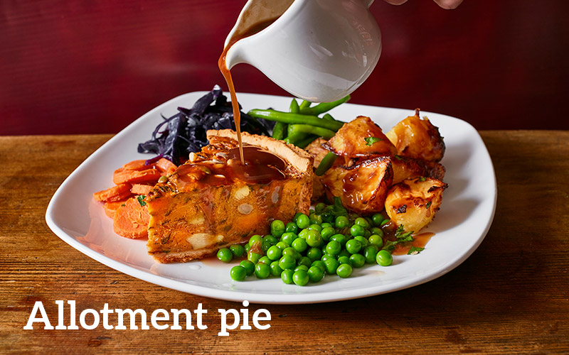 Allotment pie