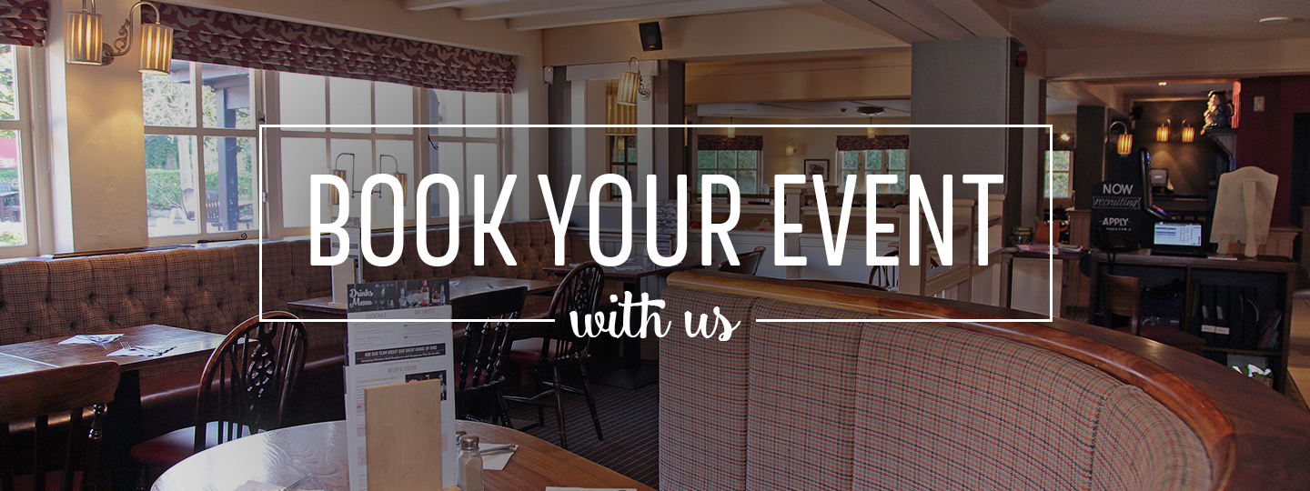 Events at Toby Carvery Macclesfield