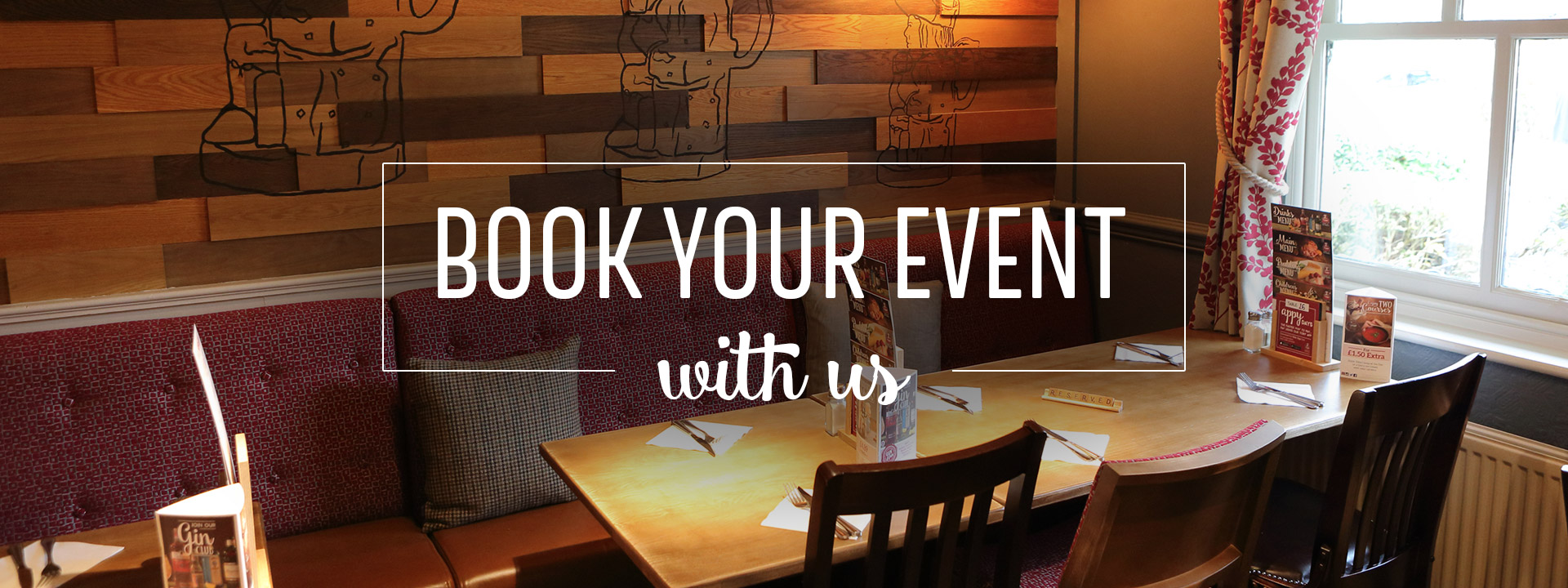 Events at Toby Carvery Loughborough