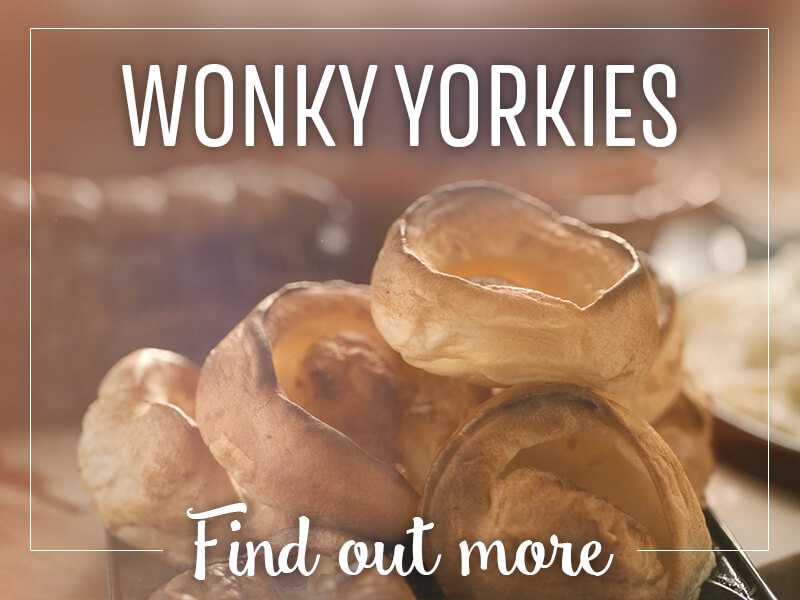 Wonderful Wonky Yorkies at Toby Carvery