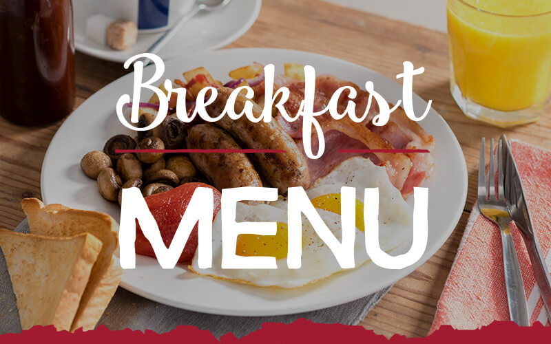 View th eToby Carvery Hall Green Breakfast Menu