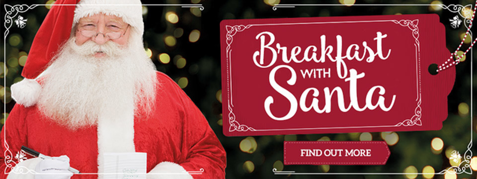 Breakfast with Santa at Toby Carvery Eden Park