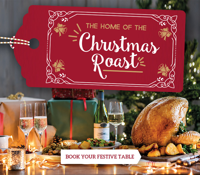 Christmas at Toby Carvery Trentham Village