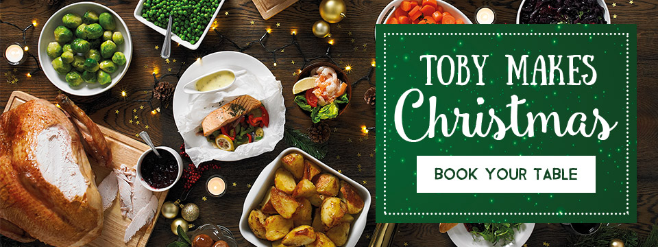 Celebrate Christmas at Toby Carvery
