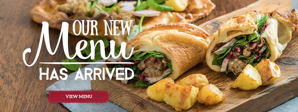 View our new menu at Toby Carvery Burton