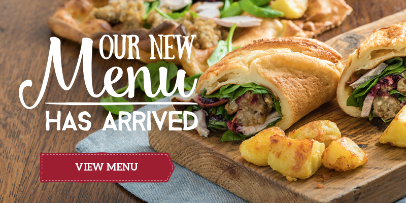 See our new Menus
