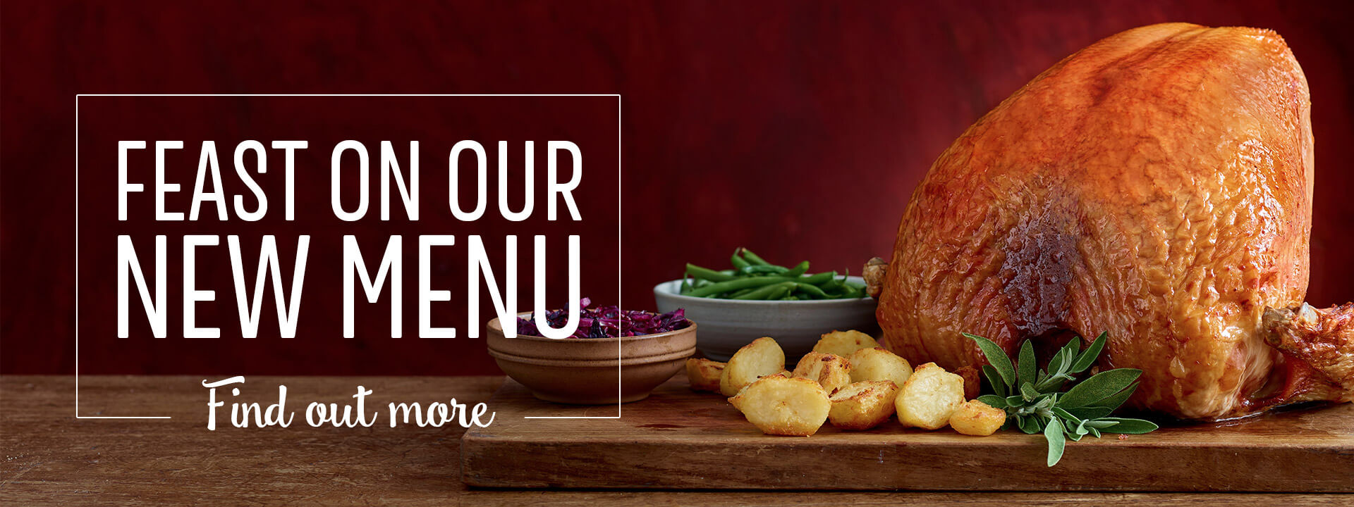 New Menus at Toby Carvery
