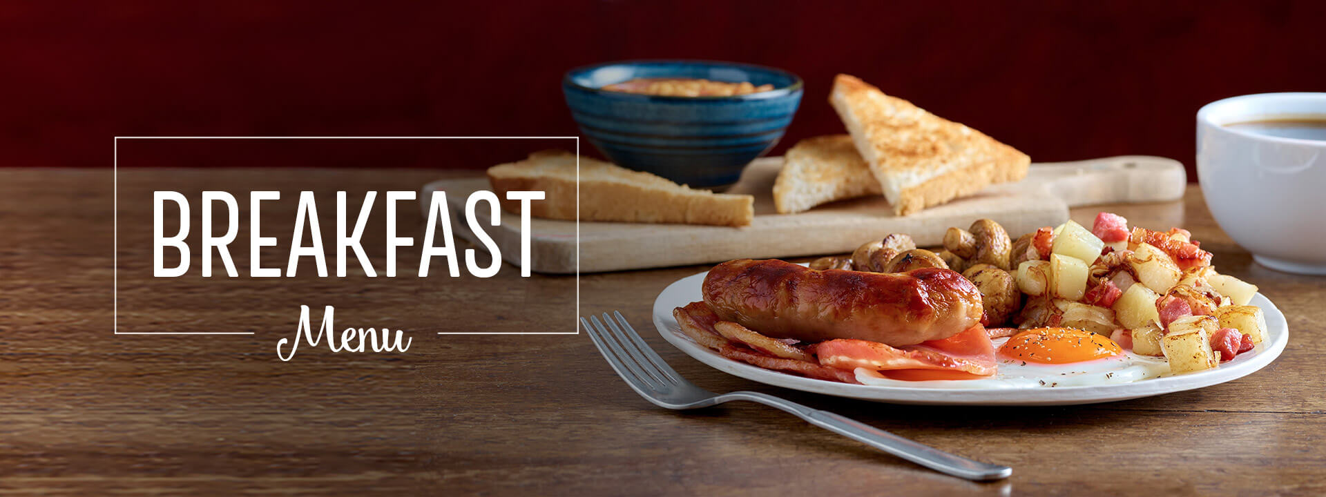 Breakfast at Toby Carvery Knowle - Book Now
