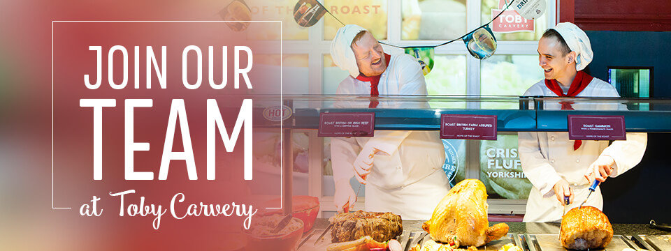 Join our team at Toby Carvery