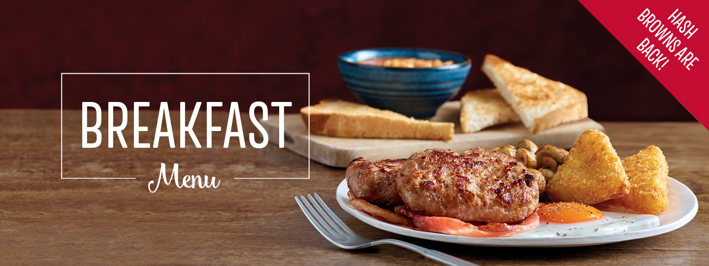 Breakfast at Toby Carvery Edinburgh West - Book Now