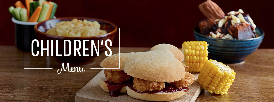 Children's Menu at Toby Carvery Cleadon Village