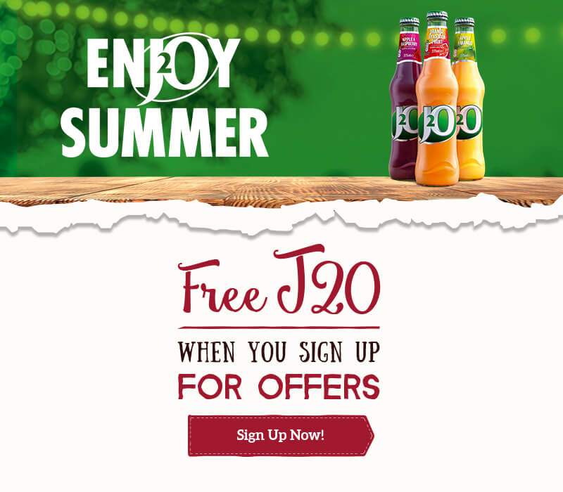 Free J20 when you sign up
