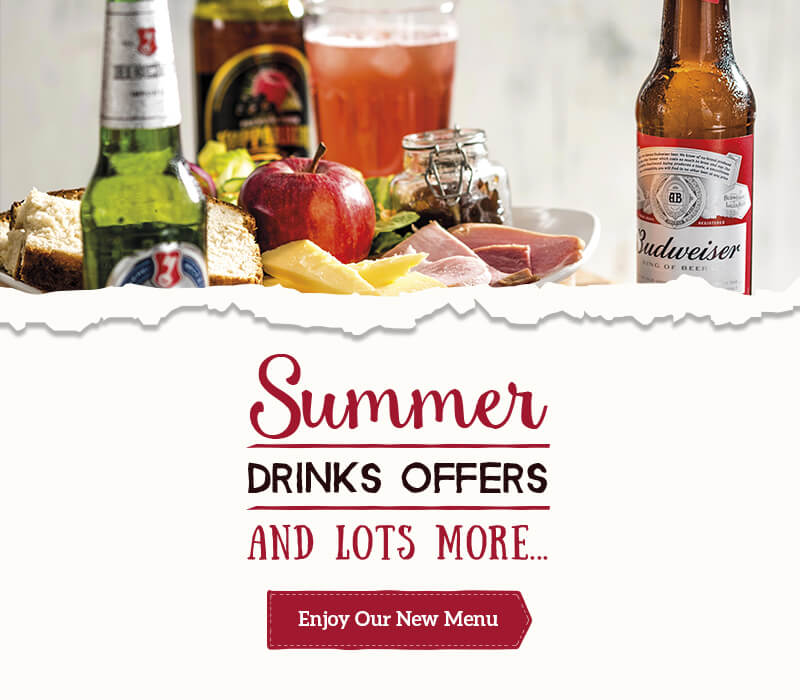 Summer drinks at Toby Carvery Festival Park