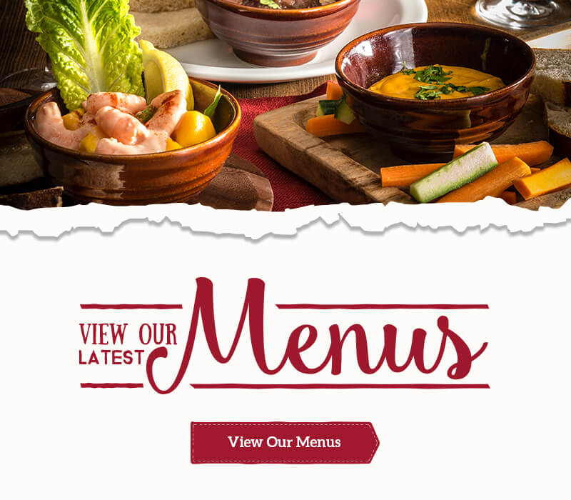 View the Menus at Toby Carvery Festival Park