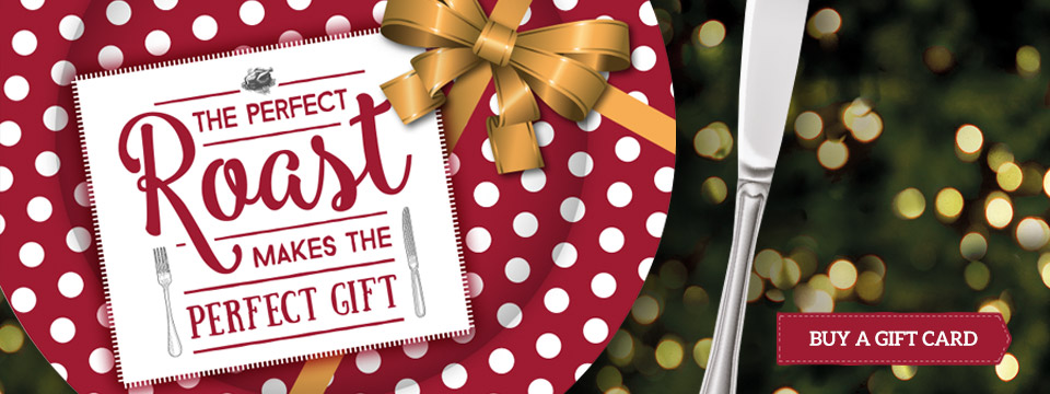 Treat your loved ones to a Christmas Gift Card at Toby Carvery