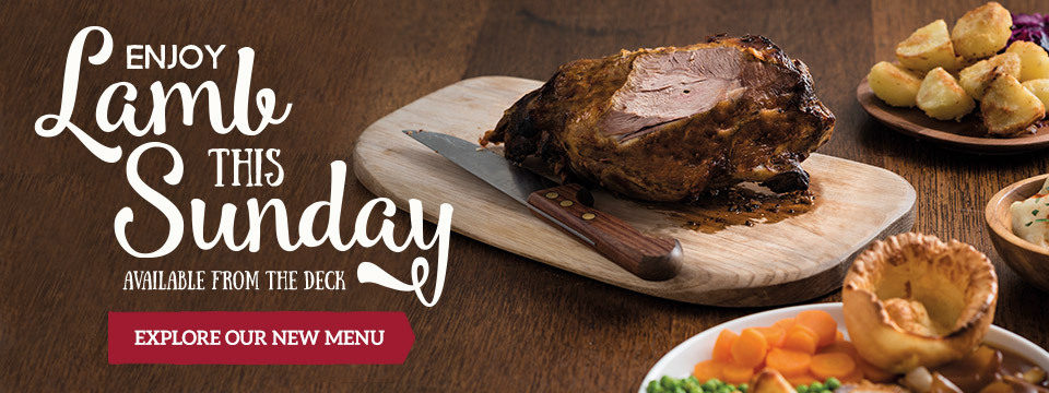 Explore our new Menu at Toby Carvery Festival Park