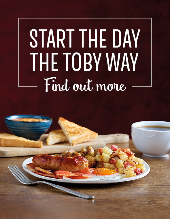 Breakfast at Toby Carvery  Salters Wharf