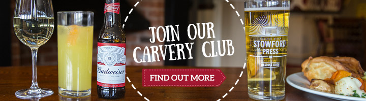 Carvery & a drink special offer - Find out more