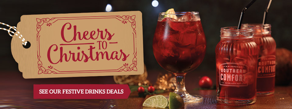 Christmas Drinks Deals at Toby Carvery Bruntcliffe