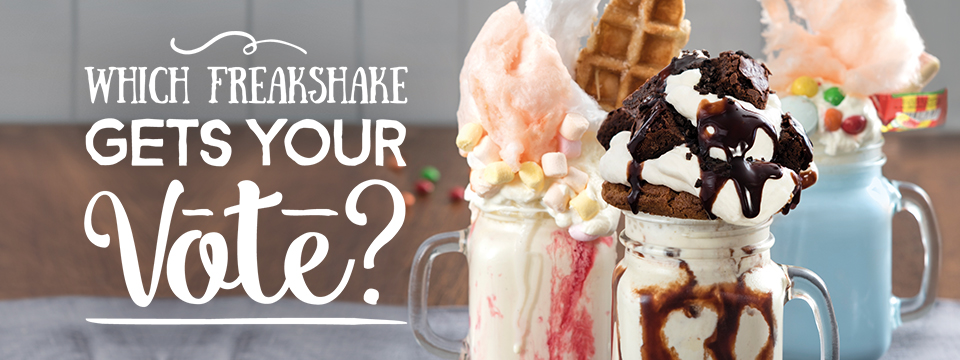 Which Freakshake gets your vote?