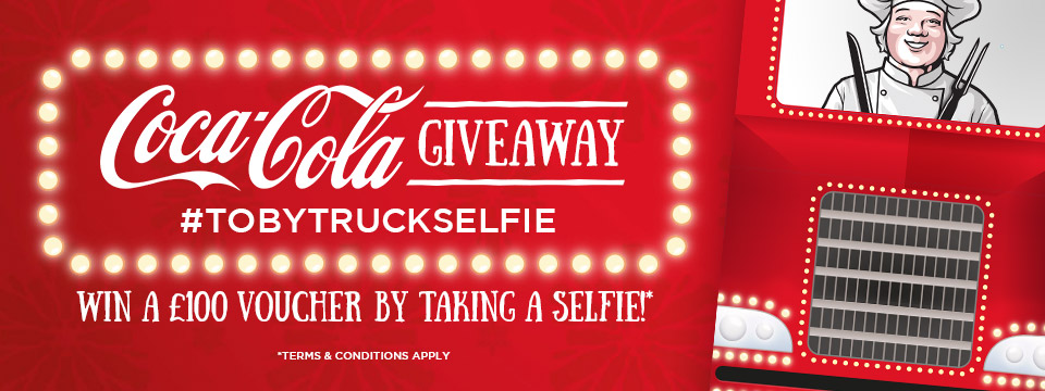 Coca Cola Truck Selfie Competition
