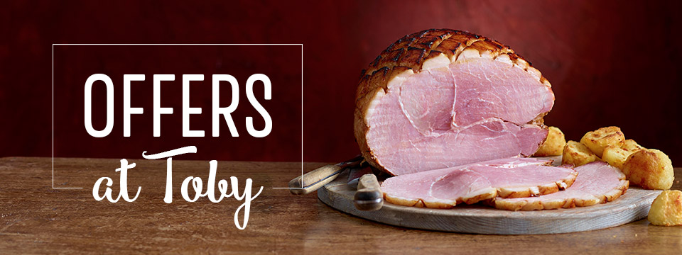 2 course meal deal at Toby Carvery