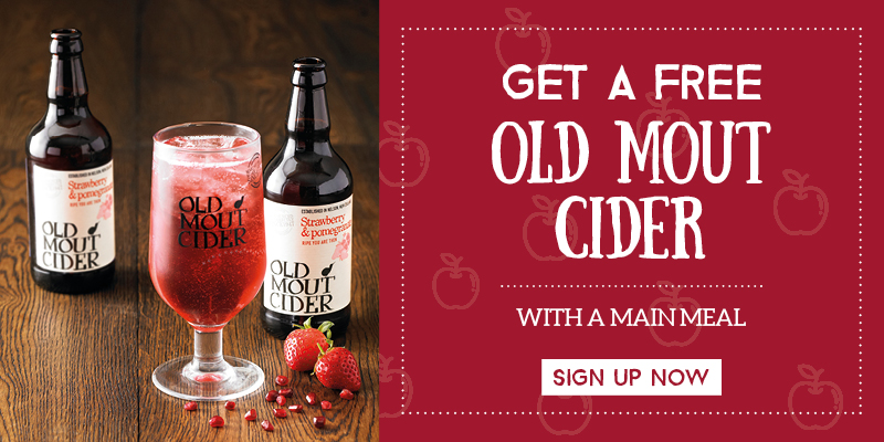 Sign up for a free cider