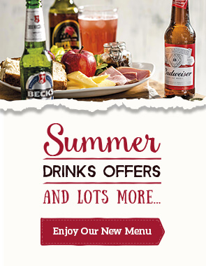 View the new Toby Drinks Menu