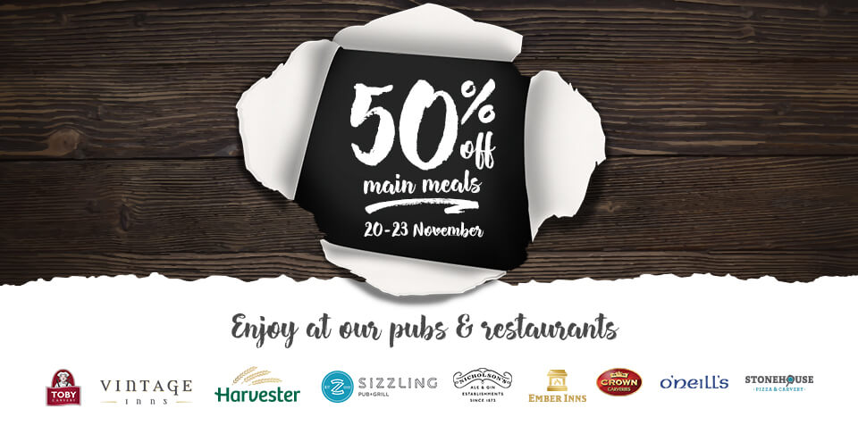 Welcome to Pub & Restaurant Deals