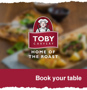 Get your Toby Carvery discount code