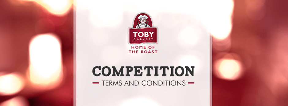 Toby Twitter Competition T&C's