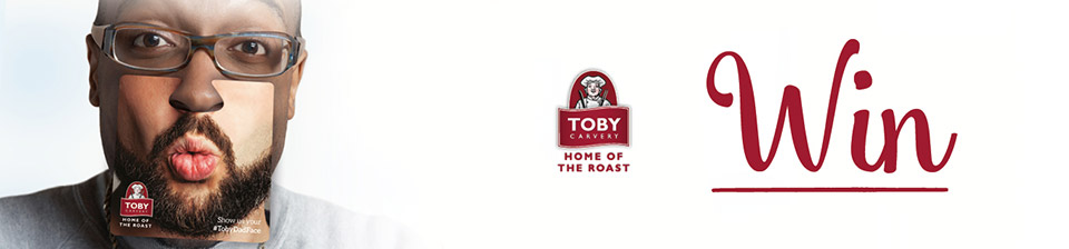 Win with Toby Carvery