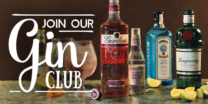 Join the Toby Carvery Gin Club