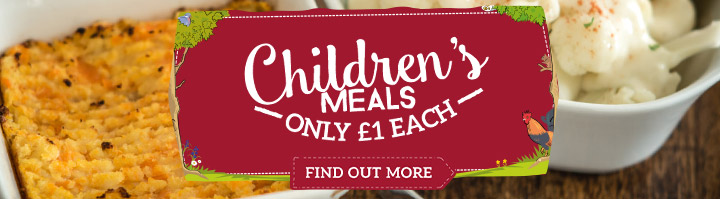 Kids Eat for £1 at Toby Carvery Frimley