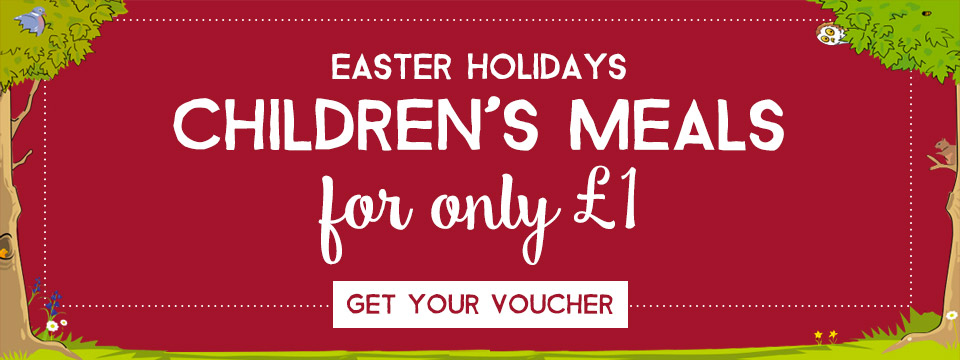 Kids Eat for £1 at Toby Carvery Downlands