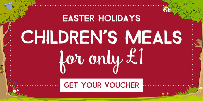 Kids Eat for £1 at Toby Carvery Romford