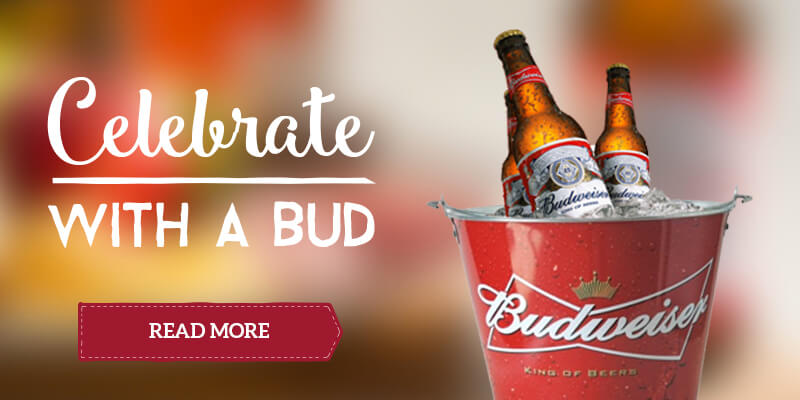 Celebrate with a bud at Toby Carvery