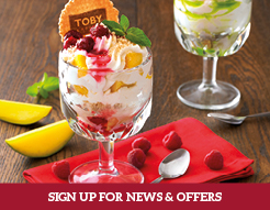 Sign up for Toby Treats