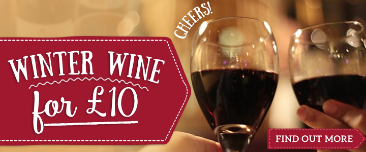 Enjoy a bottle of wine for £10
