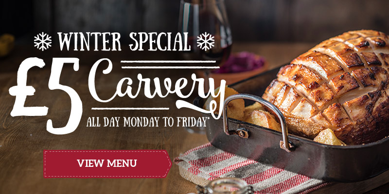 Get £5 off at Toby Carvery Watergate Toll