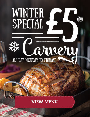 Get £5 off at Toby Carvery Braehead