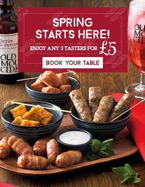 Book a Table at your local Toby Carvery