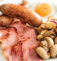 Breakfast menu at the Gloucestershire Toby Carvery